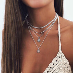 Attractive Alloy Jewelry Sets Necklaces