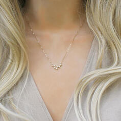 Charming Pretty Artistic Romantic Alloy With Star Ladies' Necklaces