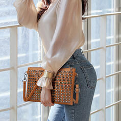 Delicate/Splice Color Crossbody Bags
