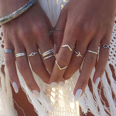 Charming Pretty Artistic Romantic Alloy With Moon Ladies' Rings