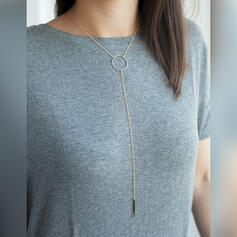 Classic Simple Alloy Necklaces