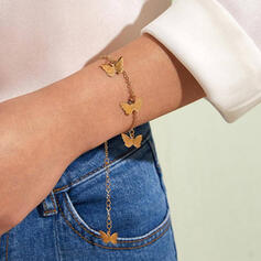 Simple Charming Delicate Alloy With Butterfly Bracelets