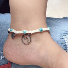Charming Pretty Artistic Romantic Alloy With Starfish Ladies' Anklets