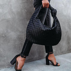 Fashionable/Dumpling Shaped/Braided Tote Bags