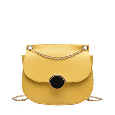 Fashionable/Dumpling Shaped/Solid Color Crossbody Bags