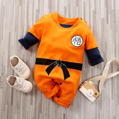 Baby Boy Print Cotton One-piece