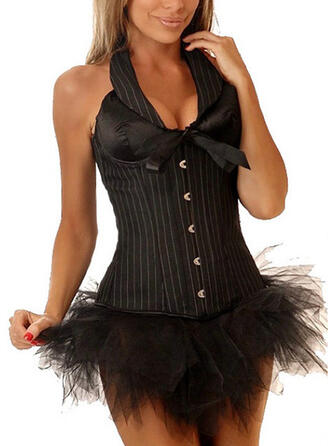 Polyester Chinlon Striped Corset