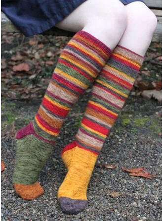 Striped/Bohemia/Colorful Comfortable/Christmas/Calf Socks Socks/Stockings
