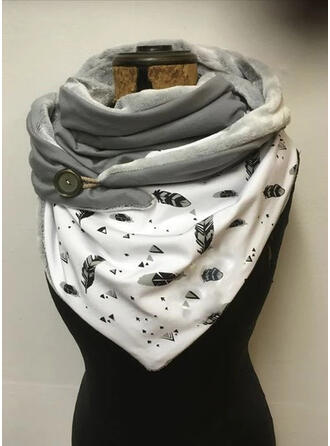 Leaves/Graphic Prints fashion/Comfortable/Triangle Scarf