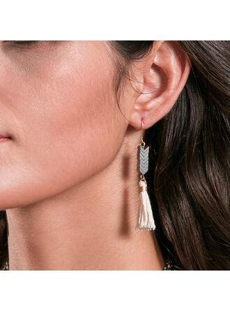Unique Exquisite Alloy With Acrylic Earrings 2 PCS