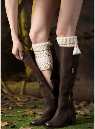 Solid Color Comfortable/Leg Warmers/Boot Cuff Socks Socks