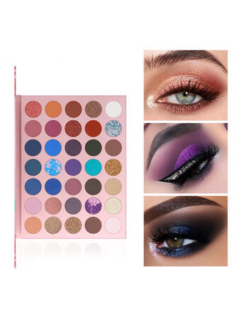 35-color Matte Shimmer Classic Eyeshadow With Box