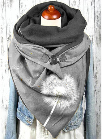Stitching/Graphic Prints Oversized/fashion/Comfortable/Triangle Scarf
