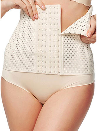 Cotton Blends Mesh Corset