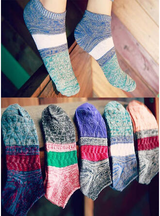 Bohemia Comfortable/Ankle Socks/Unisex Socks (Set of 5 pairs)