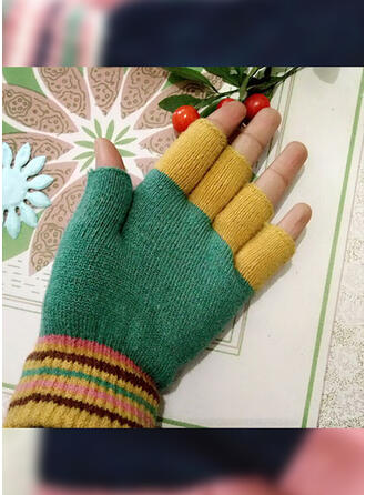 Stitching fashion/Comfortable/Color Block Gloves