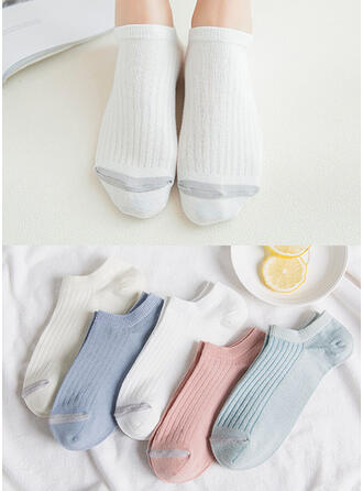 Striped Comfortable/Ankle Socks Socks (Set of 5 pairs)