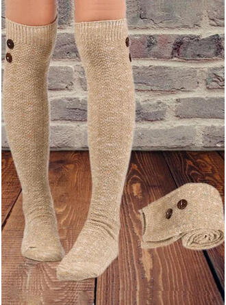 Crochet Warm/Comfortable/Women's/Knee-High Socks Socks/Stockings