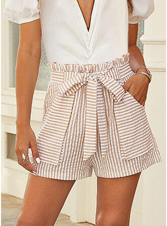 Striped Casual Shorts