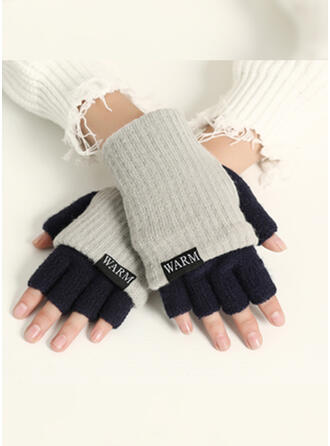 Solid Color/Stitching fashion/Comfortable/Fingers Gloves