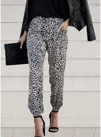 Leopard Long Casual Sexy Pants