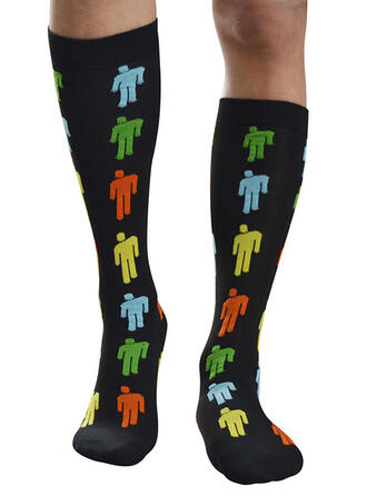 Print Comfortable/Calf Socks/Unisex Socks/Stockings