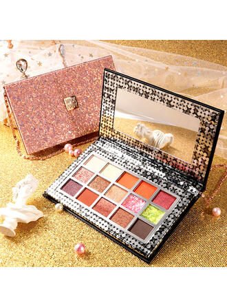 Matte Shimmer Classic Eyeshadow Palette With Box